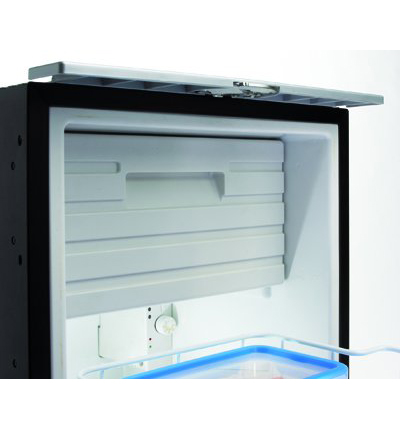The detachable, integrated freezer compartment in the CRD-50 Waeco Fridge